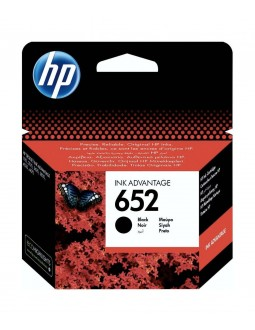 HP Ink 652B for Inkjet Printing 360 Page Yield - Black (Single Pack)