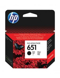 HP Ink 651 for InkJet Printing 600 Page Yield - Black (Single Pack)