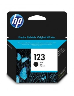 HP Ink 123 for Ink Jet Printing 120 Page Yield (F6V17AE) - Black