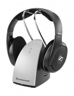 Sennheiser Wireless Headphones (RS 120 II) – Black / Silver