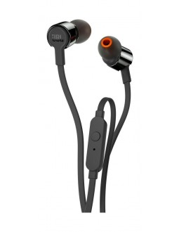 JBL T110 In-Ear Wired Earphone with Mic - Black