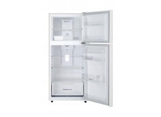 Daewoo 14 Cft. Top Mount Refrigerator (FNG406NT) - White
