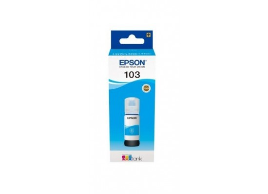 Epson 103 EcoTank Ink Bottle (C13T00S24A) - Cyan
