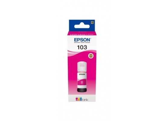 Epson 103 EcoTank Magenta Ink Bottle 65ml