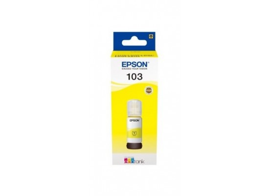 Epson 103 EcoTank Ink Bottle (C13T00S44A) - Yellow