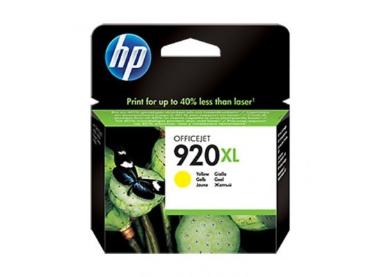 HP Ink 920XL Yellow Ink