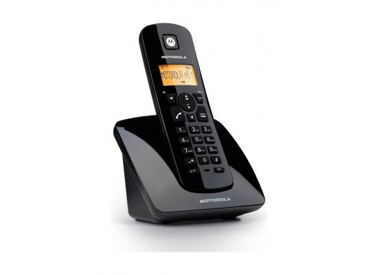 c27a41f880f Motorola C402 Wireless landline Telephone Duos Twin Pack - Black ...