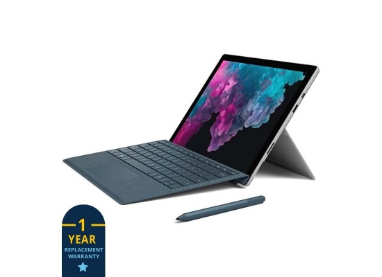Microsoft Surface Pro 6 Core i5 8GB RAM 256B SSD 12.3 Touchscreen Laptop - Platinum 3
