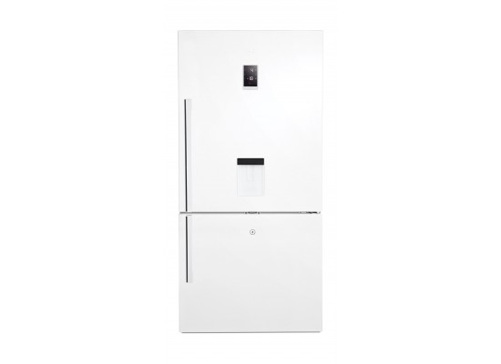 Beko 22 Cft. Bottom Freezer Refrigerator (CNE63721/CN16322) - White