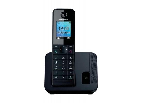 Panasonic KX-TG Series Cordless Landline Telephone (KX-TGH210UEB) - Black