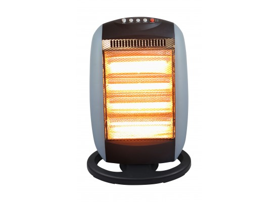 Wansa 1600W 4 Lamps Electric Halogen Heater - AE-3004