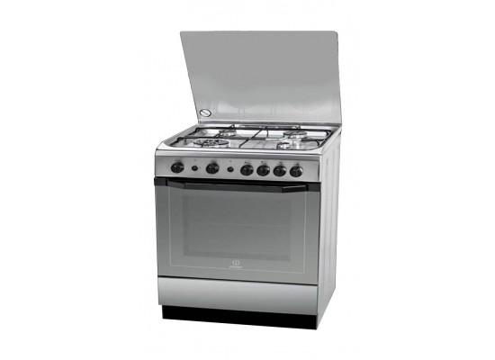 Indesit 60x60cm 4-Burner Free Standing Gas Cooker (I6TG1G.K(X)/EX)