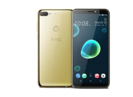 HTC Desire 12+ 32GB Phone - Gold