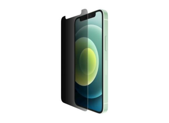 Belkin ScreenForce Privacy Anti-Microbriabl iPhone 12 Mini Screen Protector in Kuwait   Buy Online – Xcite