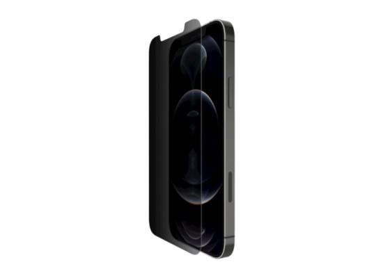 Belkin ScreenForce Privacy Anti-Microbriabl iPhone 12 Mini Screen Protector in Kuwait | Buy Online – Xcite