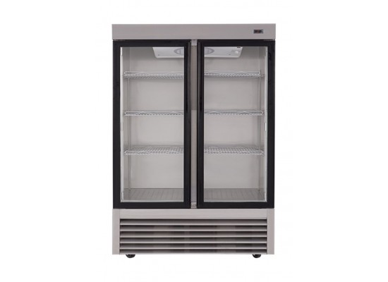 Wansa 34 Cft. Window Refrigerator (2GDAS) – Stainless Steel