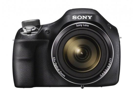 Sony Cyber-Shot  DSC-H400 20.1 MP 63x Optical Zoom Digital Camera - Black