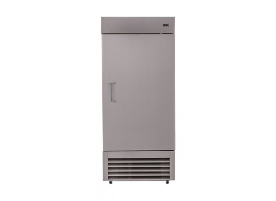 Wansa 14 Cft. Single Door  Refrigerator - Stainless Steel (1DAS)