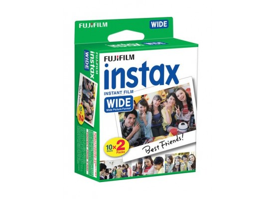 Fujifilm Instax Wide Instant Film - 2 Pack x 10 prints