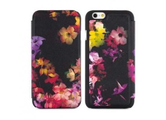 2c9f9d79c Proporta Ted Baker Alli Cascading Floral Protective Flip Case for iPhone 6  (PRO-28718) - Black
