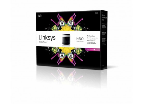 Linksys Advanced Simultaneous Dual-Band Wireless-N Router E2500 (N600)