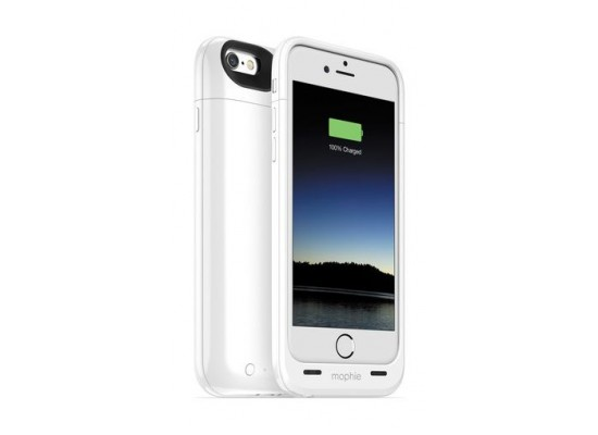 61b7346aa Mophie Juice Pack Plus 3300mAh Battery Case for iPhone 6 - White ...