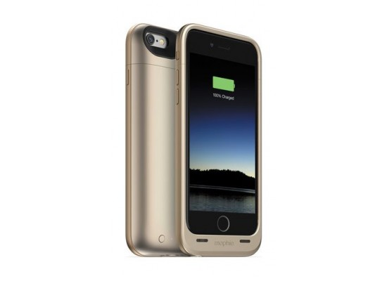 premium selection 683fb df80c Mophie Juice Pack Plus 3300mAh Battery Case for iPhone 6 - Gold ...