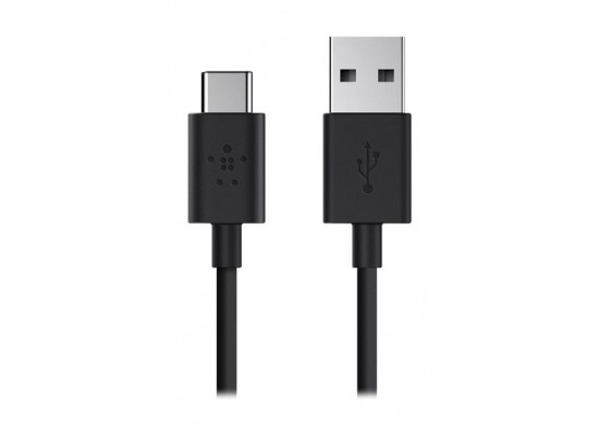Belkin 2.0 USB-A to USB-C Charge Cable 1.8 M (F2CU032BT06) - Black