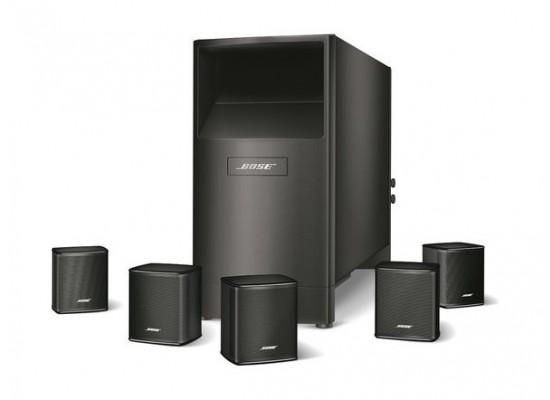 bose acoustimass 6 series v home theater speaker system - black