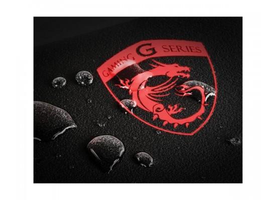 MSI Sistorm Waterproof Gaming Mouse Pad (GF0-V000025-HXK) - Black/Red