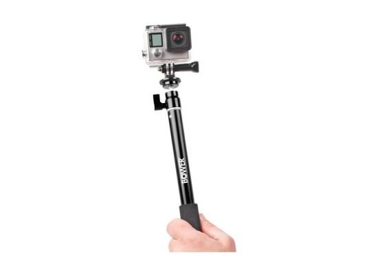 Bower Xtreme Action Series Wireless Shutter Selfie Stick - Black (XAS-BTM400)