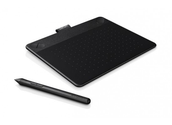 Wacom Intuos Art Pen & Touch Drawing Tablet (Small) - Black