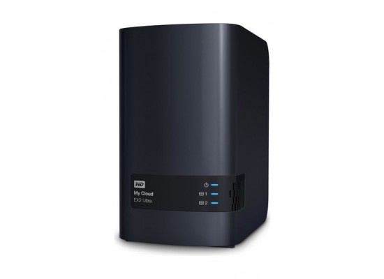 Western Digital My Cloud EX2 Ultra 8TB 2-Bay Personal Cloud Storage (WDBVBZ0080JCH)