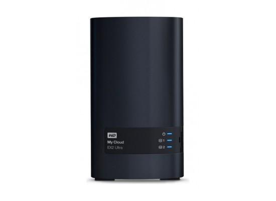 Western Digital My Cloud EX2 Ultra 4TB 2-Bay Personal Cloud Storage (WDBVBZ0040JCH)