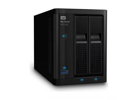 Western Digital My Cloud PR2100 2-Bay NAS And Cloud Storage (WDBBCL0000NBK)
