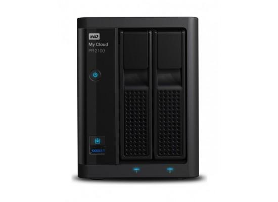 Western Digital My Cloud PR2100 12TB 2-Bay NAS And Cloud Storage (WDBBCL0120NBK)