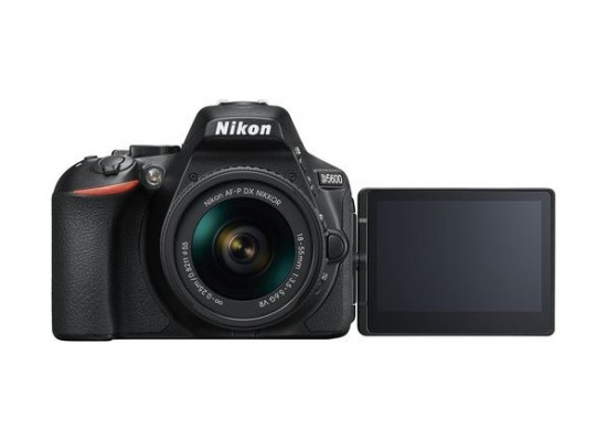 Nikon D5600 DSLR Camera 24.2MP Wifi With DX 18-55mm f/3.5-5.6G VR Lens - Black