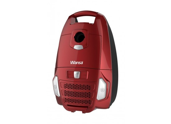 Wansa Canister Vacuum Cleaner 2400 Watts (VCB50A14E-D) - Red
