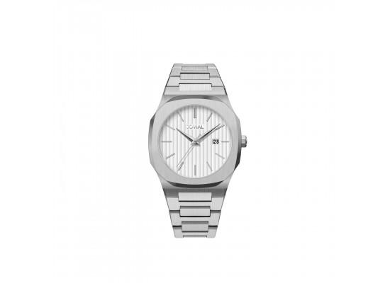 Jovial 40mm Analog Gents Metal Watch (1500GSMQ-01)