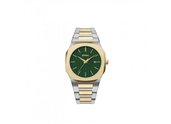 Jovial 40mm Analog Gents Metal Watch (1500GTMQ-09)