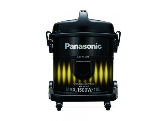 Panasonic 10 Liters 1500W Drum Vacuum Cleaner (MC-YL620Y747) - Black