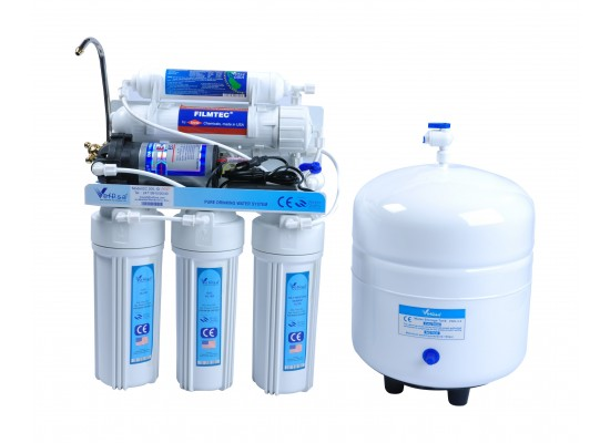 Vefpsa Pro 5 Stage Water Filter – 3.2 Gallons (EC105p)