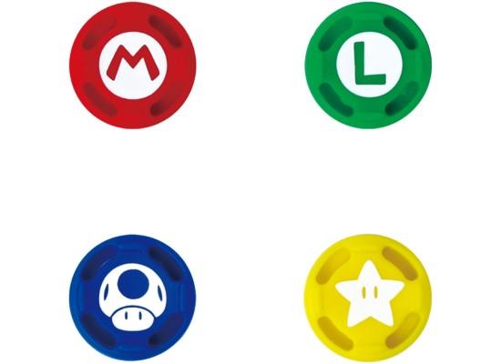 Hori Super Mario Analog Caps for Nintendo Switch (Set of 4)