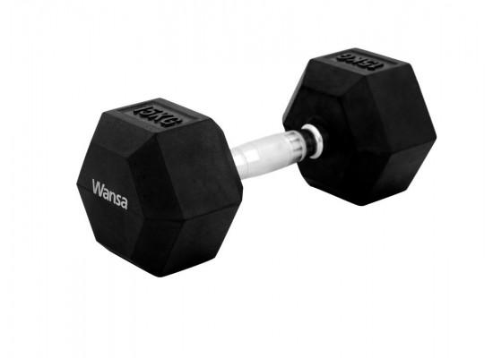 Wansa 15kg Training Dumbbell (DF018) - Black