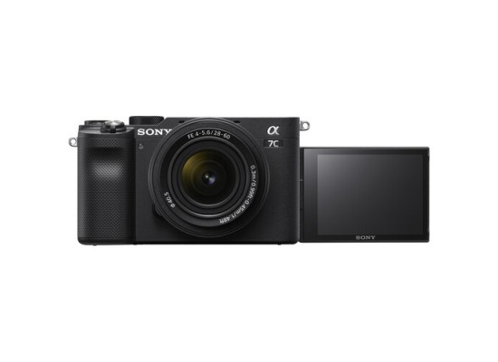 Pre-Order: Sony Alpha a7C Mirrorless Digital Camera with 28-60mm Lens - Black