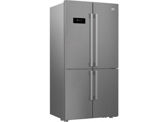 Beko 22 CFT Four Door Refrigerator -  Titanium Inox (GN1416221ZX)