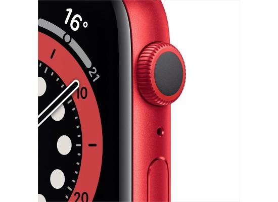 Apple Watch Series 6 GPS 44mm Aluminum Case Smart Watch - Red