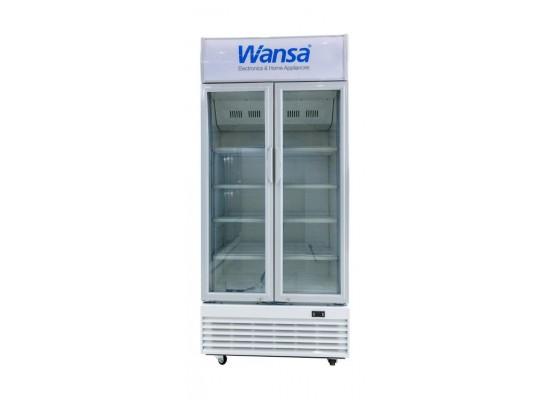 Wansa 21 Cft. Window Refrigerator (WUSC-600-NFWT) – White