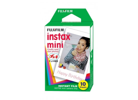 Fujifilm Instax Mini Instant Film - 1 x10 Sheets