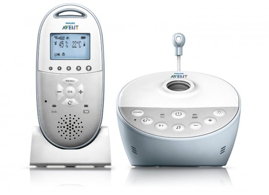 Philips Avent DECT Baby Monitor - SCD580/01